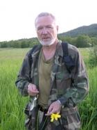 Академик Молодин Вячеслав Иванович, Алтай, 2004 г. Фото В. Мыльникова