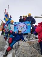 Молодые ученые БНЦ СО РАН на Мунку-Сардык — высочайшей вершине Саян