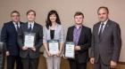 Молодые ученые Иркутска со свидетельствами на получение гранта Президента РФ