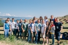Молодые ученые на Байкале. Фотография Студенческого медиацентра ИРНИТУ.