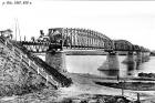 Мост через реку Обь, 1897 год.