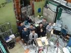 Научная группа ИЯФ СО РАН вместе с японскими коллегами