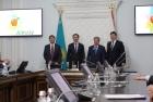 Подписание соглашения НГУ - «Самрук-Казына» в Алматы.