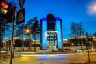 Новый главный корпус НГУ, фото Алексея Слепенкова