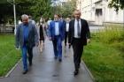 Визит Андрея Травникова в НГУ