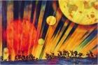 Новая планета. Юон Константин Федорович 1921 г.