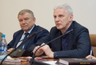 Валентин Пармон и Андрей Фурсенко