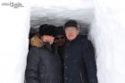 Академики Валентин Пармон и Александр Сергеев в поселке Тикси (Якутия). Фото ulus.media