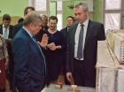 Валентин Пармон и Андрей Травников в ИК СО РАН