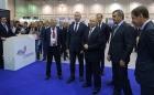 Владимир Путин на выставке в Экспоцентре, Новосибирск, 28.08.2018