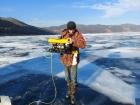 Специалисты ЛИН СО РАН провели на Байкале тестирование подводного телеуправляемого аппарата