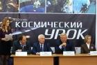 Губернатор Томской области Сергей Жвачкин с Людмилой Огородовой и Сергеем Псахье