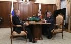 Владимир Путин и Михаил Ковальчук, 12.03.2019