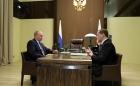 Владимир Путин и Дмитрий Медведев, 15.05.2018