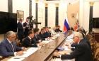 Совещание Президента РФ с членами Правительства. 24.07.2019