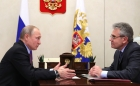 Владимир Путин и Александр Сергеев, 22.01.2018