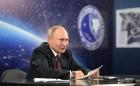 Владимир Путин в ходе совещания о долгосрочных приоритетах развития космической деятельности