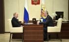 Владимир Путин и Андрей Травников, 02.07.2018