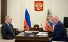 Владимир Путин провёл рабочую встречу с губернатором Кузбасса Сергеем Цивилёвым