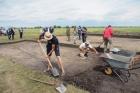 Археологические раскопки, которые ведутся ИАЭТ СО РАН в Венгеровском районе Новосибирской области