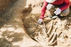 Ученые начали раскопки на месте древнего захоронения, найденного на частном приусадебном участке в Улан-Удэ