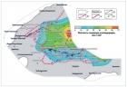 Распределение плотности генерации углеводородов в нефтегазоматеринских отложениях перми Вилюйской гемисинеклизы
