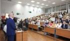 Академик Николай Ратахин в Лицее при Томском политехническом университете