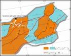 Районирование территории Западного Саяна по выделенным морфогенетическим рядам