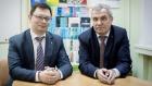 Ректор ДВФУ Никита Анисимов и ректор НГУ Михаил Федорук