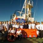 Участники российско-китайской тихоокеанской экспедиции 2018 года