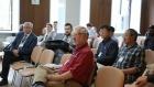 Участники российско-китайской математической конференции в НГУ