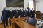 Глава Бурятии Алексей Цыденов и делегация РАН. Фото Байкал-Daily