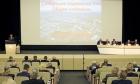Сергей Меняйло выступает на Общем собрании СО РАН