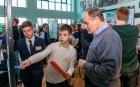 Школьная конференция в ИСЗФ СО РАН. Фото: Владимир Короткоручко.