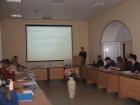 Школьники выступают с научными докладами в ОНЦ СО РАН