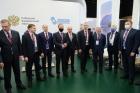 Академики Валентин Пармон и Дмитрий Маркович в делегации сибирских регионов на ПМЭФ-2021