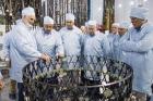 Делегация СО РАН в космической фирме Решетнева.