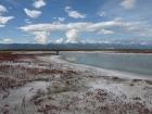 Соленое озеро в Бурятии