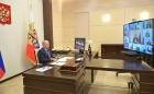 Владимир Путин на совещании в режиме онлайн, 06.05.2020