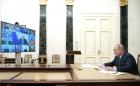 Владимир Путин в режиме видеоконференции провёл совещание с членами Правительства Российской Федерации.