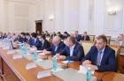 Совещание в Новосибирске с участием вице-премьера  РФ Юрия Борисов,а