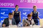 Дмитрий Степкин и Елена Багрянская. Фото Д. Хомяковой