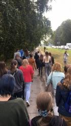 Студенты НГУАДИ на экскурсии в новосибирском Академгородке