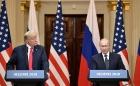 Дональд Трамп и Владимир Путин, 16.07.2018