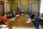 Встреча Андрея Травникова с сотрудниками ИЭОПП СО РАН