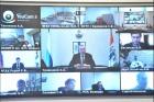 Участники заседания наблюдательного совета научно-образовательного центра мирового уровня «Сибирский биотехнологический научно-образовательный центр»