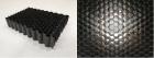 Цианат-эфирный углепластиковый сотовый заполнитель для сэндвич-панелей производства НИИКАМ. Фото предоставлено НИИКАМ.