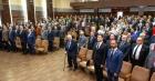Участники торжественного заседания в ИДСТУ СО РАН, фото Владимира Короткоручко.