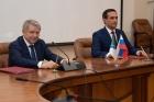 Валентин Пармон и Ринат Максютов. Фото Ю. Поздняковой