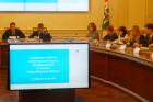 Заседание коллегии Министерства науки и инноваций Новосибирской области. Фото Евгения Серёгина